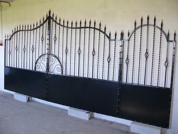 Ворота кованые Олд, Олд плюс , фото 2