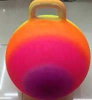 Мяч для фитнеса ND102 80шт ассорти, гири с шипами  45см 350г
