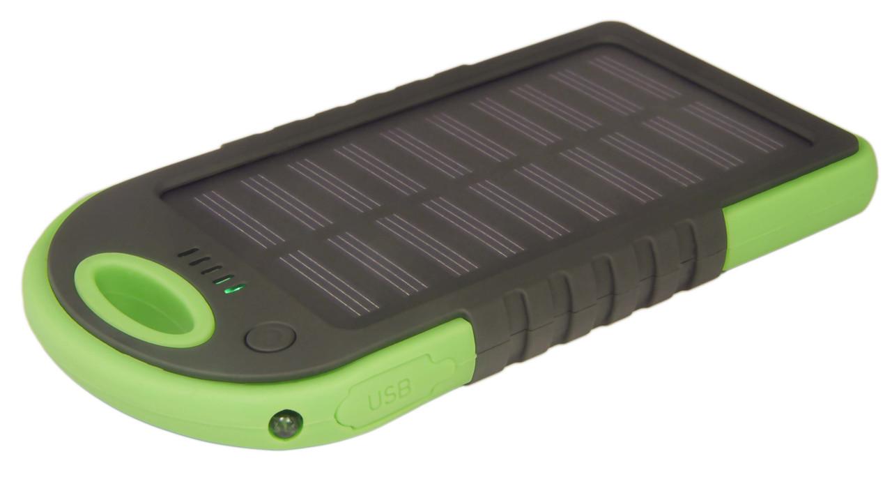 Портативное зарядное устройство Power Bank Solar Charger 10000 mAh