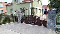 Ворота кованые Опера