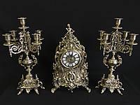 Набор Часы + 2 Канделябра на 5 свечей Stilars 1813