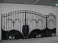 Ворота кованые Опера-1