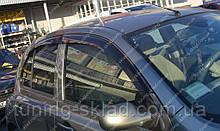Вітровики вікон Ніссан Мікра К12 (дефлектори бокових вікон Nissan Micra К12)