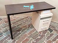 """Маникюрный стол """"Степ"""" с встроенным стерилизатором"""