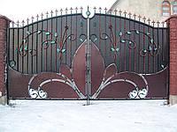 Ворота кованые Опера-4