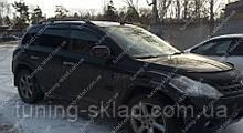 Вітровики вікон Ніссан Мурано 1 (дефлектори бокових вікон Nissan Murano Z50)