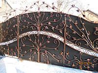 Ворота кованые Осень, Осень плюс