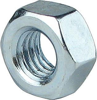 Гайка шестигранная DIN 934 М10 (100 шт/уп)