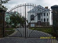 Ворота кованые Отава, Отава плюс