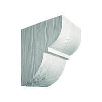 Консоль декоративная из полиуретана «Модерн» ED 015 classic белая 19х17