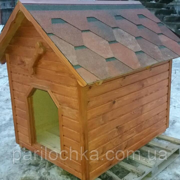 Будка деревянная. Вагонка сосна