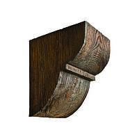 Консоль декоративная из полиуретана «Модерн» ED 015 classic темная 19х17