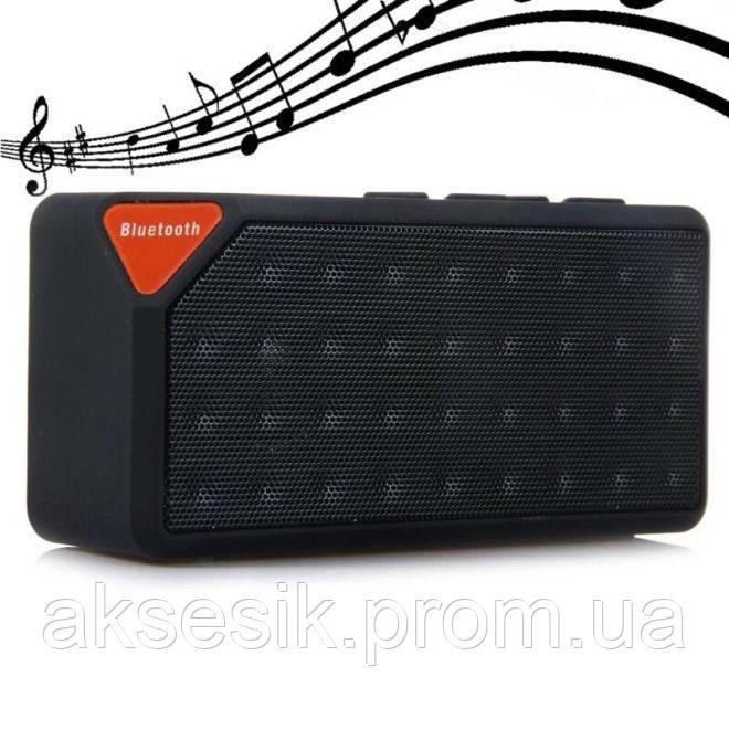 Портативная акустика X3 Bluetooth