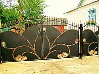 Ворота кованые Пиковая дама, Пикова дама плюс