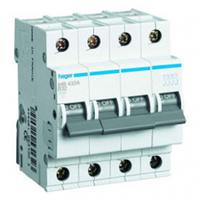 Автоматический выключатель Hager MB440A 40A 6 кА 4 полюса тип B
