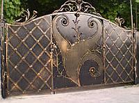Ворота кованые Париж, Париж плюс