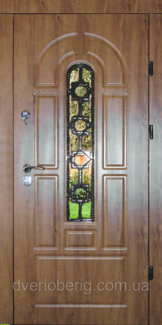 Входная дверь модель П5 124 vinorit-90 КОВКА Л10