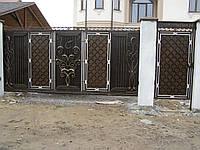 Ворота кованые Планета