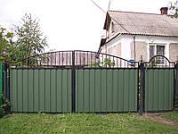 Ворота кованые Профит-3, Профит - 3 плюс