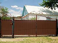 Ворота кованые Профит-4, Профит -4 плюс