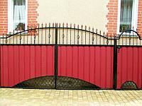 Ворота кованые Профит-5, Профит - 5 плюс