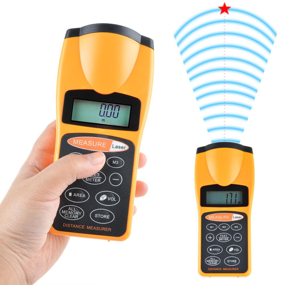 Дальномер ультразвуковой Эхометр c лазерным указателем