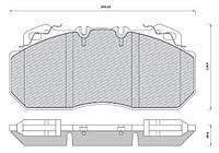 Колодки тормозные (диск) - 29090