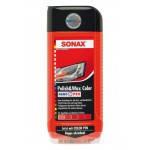 Sonax Полироль цветной с воском красный + карандаш 500мл    296400