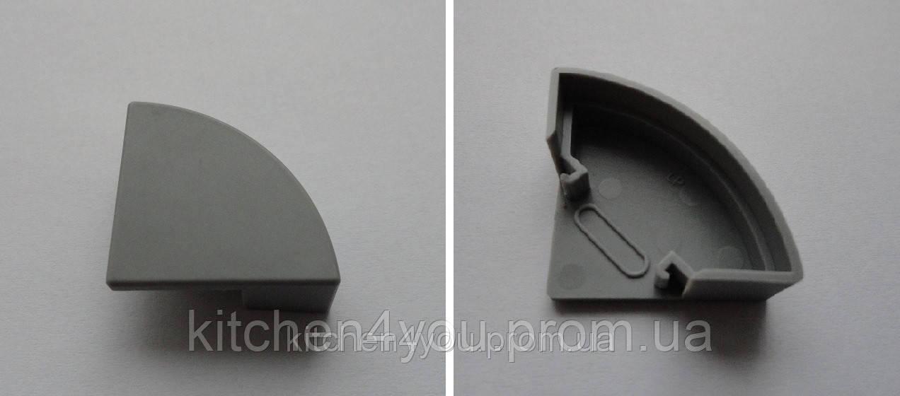 ЗСУК заглушка для профиля ЛСУ с круглым рассеивателем РСК