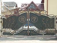 Ворота кованые Самбор, Самбор плюс