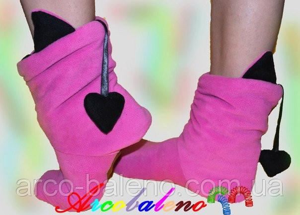 Домашняя обувь *чертенок*