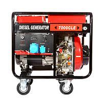 Генератор дизельный WEIMA WM7000CLE (7 кВт) 3 фазы, электрост.