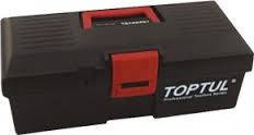 Ящик для инструмента  3 секции (пластик)  445(L)x240(W)x202(H)mm  TOPTUL TBAE0301