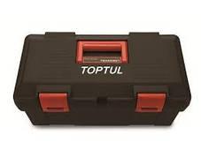 Ящик для инструмента  3 секции (пластик)  445(L)x240(W)x202(H)mm  TOPTUL TBAE0301, фото 3
