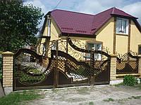 Ворота кованые Светлана, Светлана плюс
