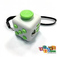 Фиджет Куб Fidget-Cube NEW (антистресс) белый/зеленый