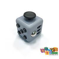 Фиджет Куб Fidget-Cube (антистресс) серый/черный
