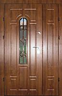 Входная дверь двух створчатая модель П3-217 vinoriy-90 КОВКА Л2