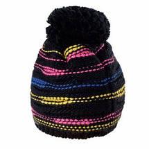Теплая вязанная женская шапочка от Loman Польша, фото 2
