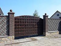 Ворота кованые Таверна, Таверна плюс