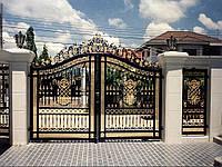 Ворота кованые Тара