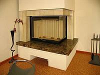 Портал для камина из натурального камня (мрамор)