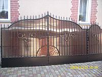 Ворота кованые Хеопс-2, Хеопс -2 плюс