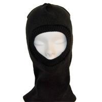 Подшлемник (шапка - маска) ОТ трикотажный лето черный