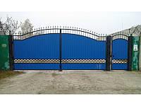 Ворота кованые Чайка