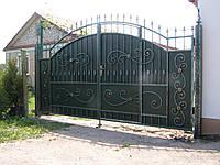 Ворота кованые Чорный принц, Черный принц плюс