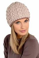 Элегантная теплая вязанная женская шапочка от Loman Польша