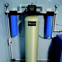 Очистка воды для коттеджа комплексная система очистки воды  ECOnom +FC до 2,5 м3/час.