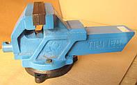 Тиски слесарные чугунные поворотные ТСЧ-160 160мм. Тиски