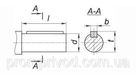 Габариты валов, которые производятся в форме цилиндра